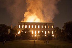 Πυρκαγιά στο Εθνικό Μουσείου τού Ρίου (2018)